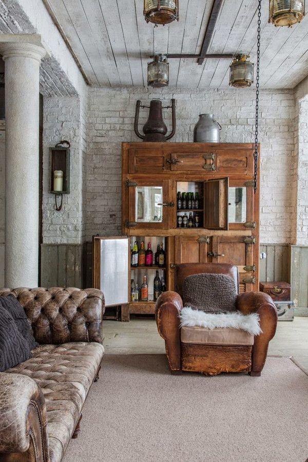 Modern Rustic Blood & Champagne