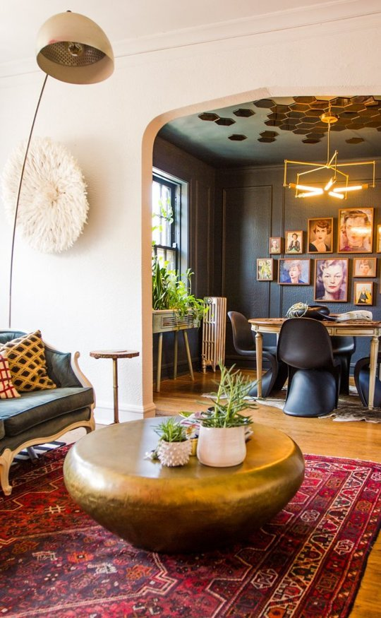 Bright Bold Home via Apartment Therapy